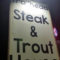 Photo taken at Trailhead steakhouse by Jonathan S. on 11/14/2015