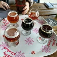Photo taken at Slippery Pig Brewery by Zack K. on 2/24/2018