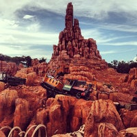 Photo taken at Big Thunder Mountain Railroad by Angel B. on 7/16/2013