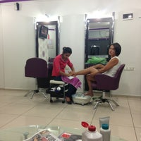 Photo taken at Lilam Coiffeur by TC Burcu D. on 9/11/2013