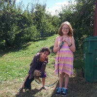 Photo taken at Elwood Orchards by John P. on 9/15/2012