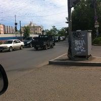 Photo taken at ост. Школьная by Паша Б. on 8/28/2013