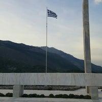 Photo taken at Μαυσωλείο Θυμάτων Ναζισμού by JOHNNY M. on 4/29/2016