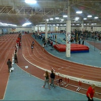 Photo taken at Toronto Track & Field Center by MaryAnne M. on 3/29/2014