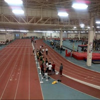 Photo taken at Toronto Track & Field Center by MaryAnne M. on 2/14/2014