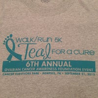 Photo taken at Teal For A Cure 5k Walk/Run For Ovarian Cancer Awareness by EU R. on 9/21/2013