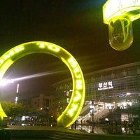 Photo taken at Busan Stn. - KTX/Korail by Keyseok C. on 4/27/2013