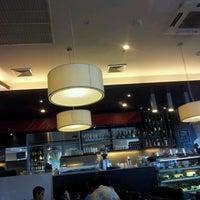 Photo taken at The Coffee Club by Khalid-Qatar on 6/12/2012