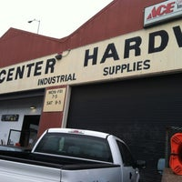 Photo taken at Center Hardware & Supply Co., Inc. by Rosemarie M. on 5/14/2012