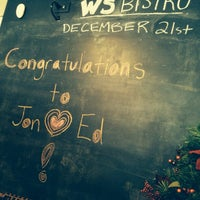 Photo taken at Washington St. Bistro by Joe on 12/21/2014