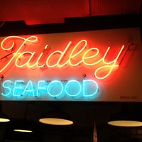 Photo taken at Faidley's Seafood & Fresh Fish Market by Colin N. on 8/30/2013