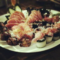 Photo taken at Koji Sushi by Beatriz F. on 7/24/2013