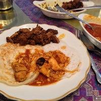 Photo taken at Mayura Indian Restaurant by Robin V. on 7/7/2013