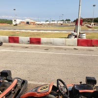 Photo taken at Karting Club Vendrell by Jorge Z. on 8/24/2013