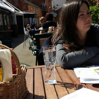 Photo taken at Joules Yard & Eating House by Andy T. on 5/3/2014