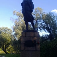 Photo taken at Памятник Зое Космодемьянской by Елена К. on 8/19/2014