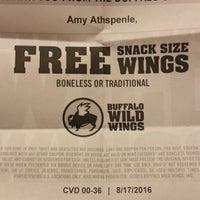 Das Foto wurde bei Buffalo Wild Wings von Derald D. am 8/18/2016 aufgenommen
