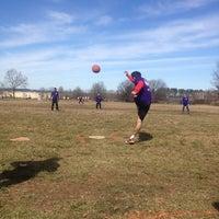 Photo taken at Patterson High School Football Fields by Biz K. on 3/9/2013