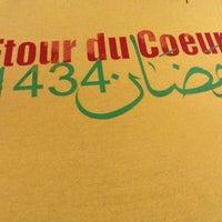 Photo taken at Ftour du Coeur - Ramadan 1433 by Youssef B. on 8/6/2013