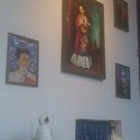 Photo taken at Kahlo galeria bar by Edd d. on 7/9/2014