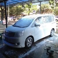 Photo taken at CM 99 Car Wash by Agung Y. on 4/15/2013