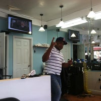 Photo taken at D' Grandes Ligas Barbershop by Marcus M. on 8/20/2013