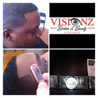 Photo taken at Visionz Barber & Beauty Lounge by Visionz B. on 9/18/2013