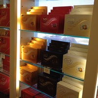 Photo taken at Lindt Chocolate by Richard R. on 4/19/2014