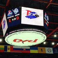 Photo taken at Арена 2000 Локомотив / Arena 2000 Lokomotiv by Александр Л. on 9/22/2013
