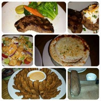 Photo taken at Outback Steakhouse by Crystal S. on 4/14/2014