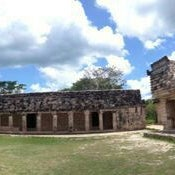 Photo taken at Uxmal by Denisse on 5/22/2014