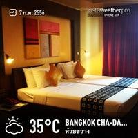 Photo taken at Bangkok Cha-da Hotel by TOP S. on 2/7/2013