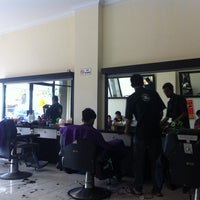 Photo taken at Sherif Barbershop by Ponco S. on 8/18/2013