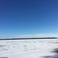 Photo taken at Lake Minnewaska by Marty O. on 1/31/2016