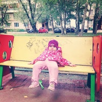 Photo taken at Михневская улица by Natasha I. on 8/30/2014