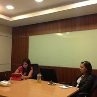 Photo taken at Abreeza Mini-Conference Room by Lourdes A. on 8/14/2013