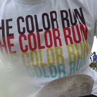 Photo taken at Color Run Recife by Rafael C. on 7/28/2013