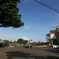 Photo taken at Halaman Kantor Walikota Pangkalpinang by Khairil A. on 5/12/2014
