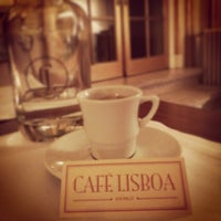 Photo taken at Café Lisboa by Filipa C. on 5/2/2014