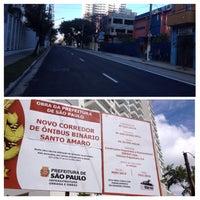 Photo taken at Rua Dr. Antonio Bento,560 by Rodrigo S. on 11/3/2014