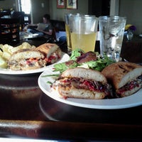 Photo taken at The Main Ingredient Ale House & Café by Frankie F. on 9/23/2012