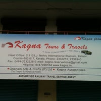 Photo taken at Kagna Tours and Travels by Sivachalam S. on 8/10/2013