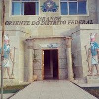 Photo taken at Grande Oriente do Distrito Federal by Emerson R. on 7/27/2013