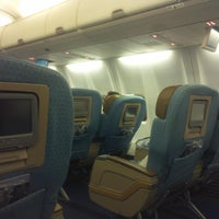 Photo taken at On Plane by Khaled on 8/10/2014