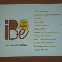 Photo taken at iBe Formación by Carme G. on 8/13/2013