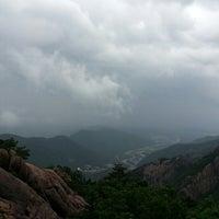 Photo taken at 설악산 케이블카 정상 by Yunseok L. on 8/29/2013