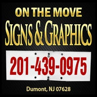 Photo taken at On the Move Signs & Graphics by Michael C. on 7/24/2013