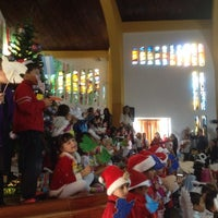 Photo taken at Gimnasio Campestre La Consolata by Daniela B. on 11/22/2013