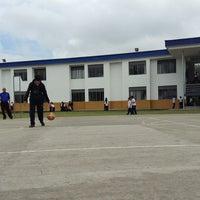 Photo taken at Gimnasio Campestre La Consolata by Daniela B. on 8/16/2013
