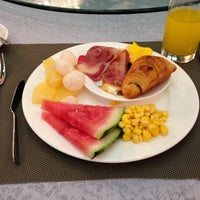 Photo taken at Huagang HNA Resort Hotel by Erica C. on 6/26/2014